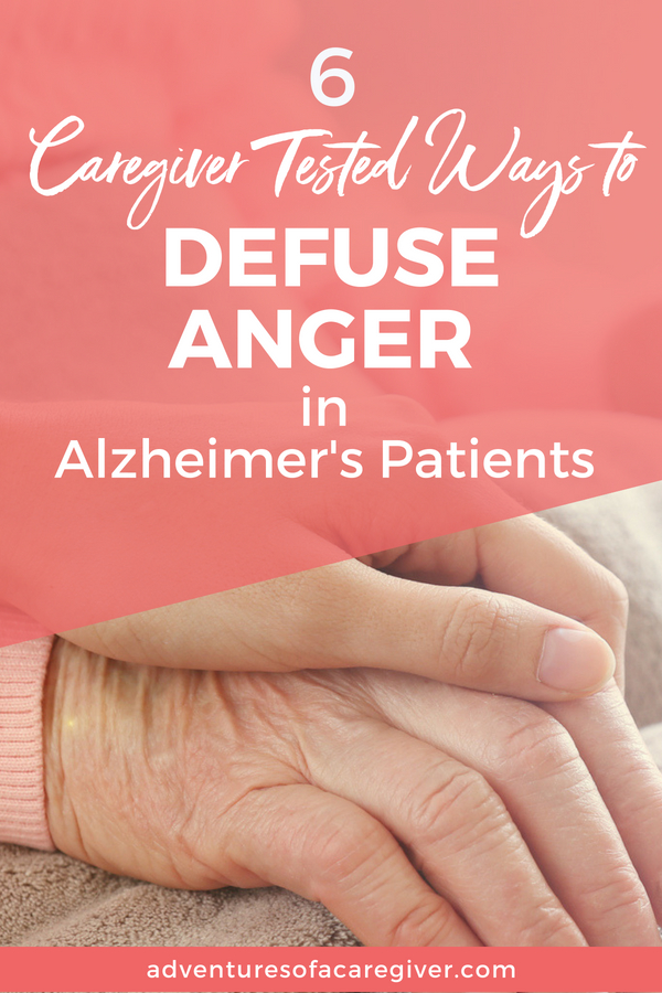 Caregiver tested strategies to deal with anger and aggression in Alzheimer's.