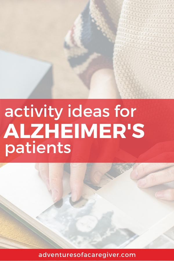 Over 75 activity and craft ideas to keep your loved one with Alzheimer's busy and engaged.