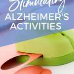 Huge list of crafts and activities for Alzheimer's and dementia patients. #alzheimers #dementia