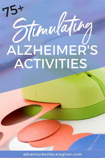 picture regarding Free Printable Activities for Dementia Patients known as 75+ Stimulating Pursuits for Alzheimers Dementia