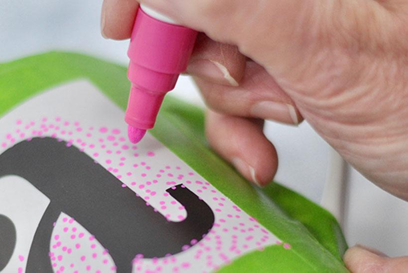 DIY Sharpie Mug craft painting