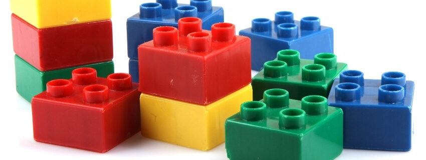 Legos are a great activity for dementia patients.