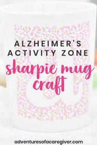 Sharpie Mug Craft for Seniors with Alzheimer's