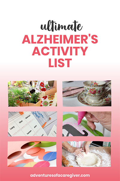 Ultimate Alzheimer's Activity List