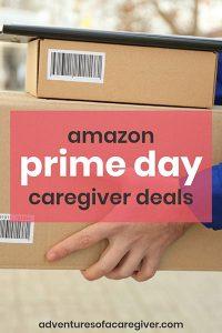 Amazon Prime Day dementia caregiver deals