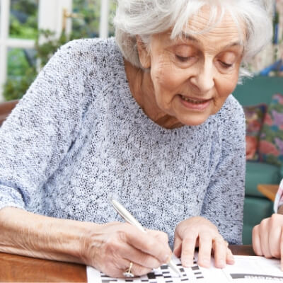 Crosswords for seniors living with dementia