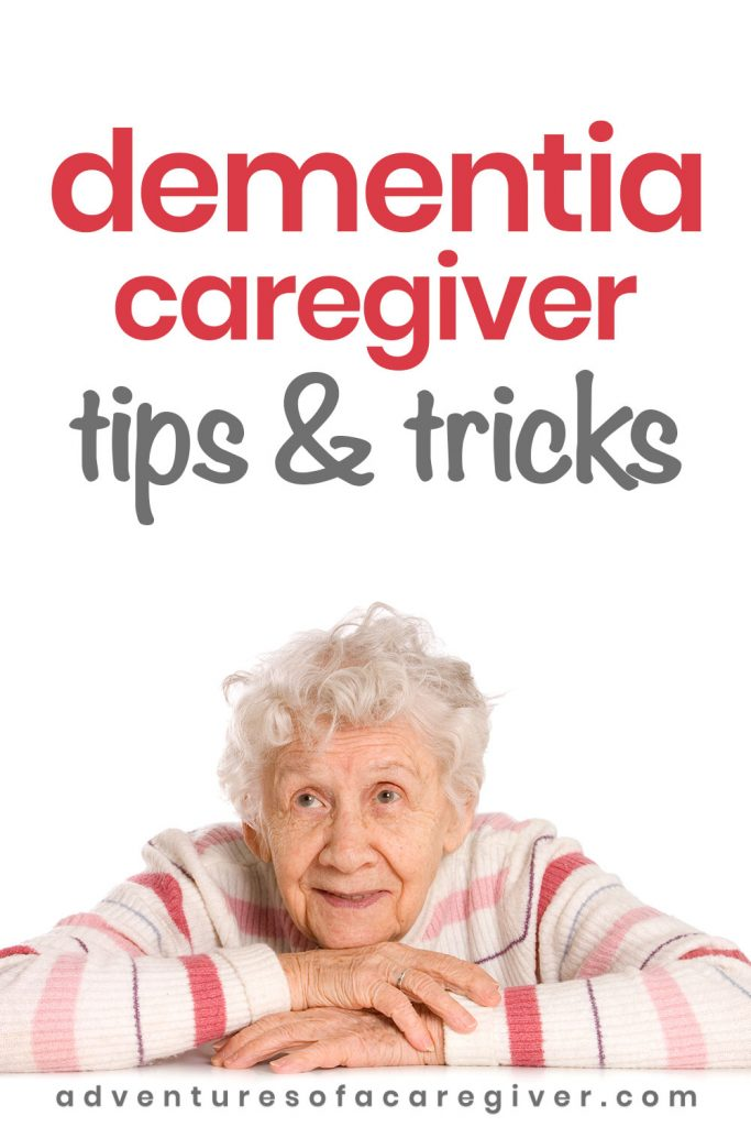 Elderly woman with dementia / caregiver tips