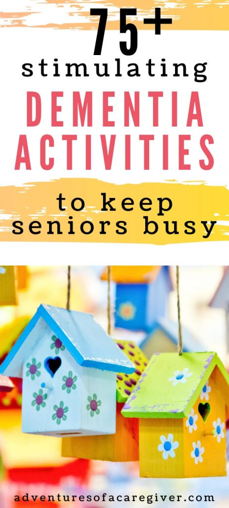 75+ Dementia Activities