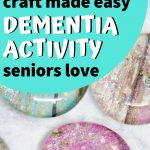 Fridge magnet craft for seniors with dementia
