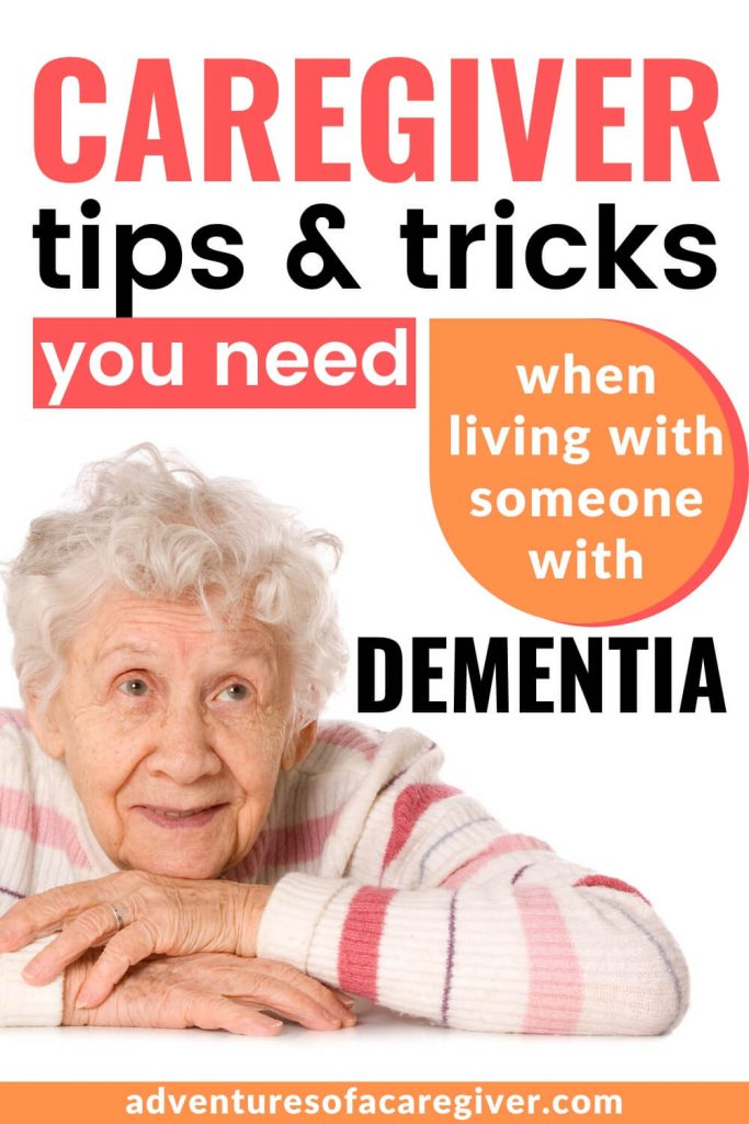 Caregiver tips living with someone with dementia