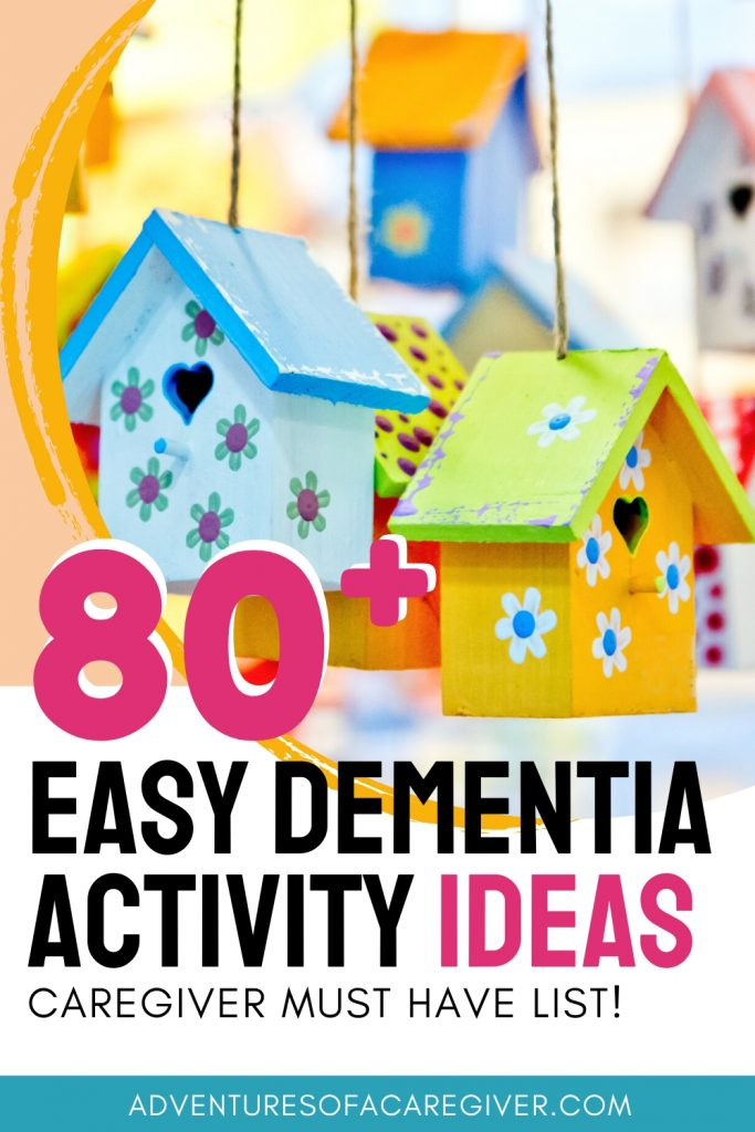 List of over 80 easy dementia activities