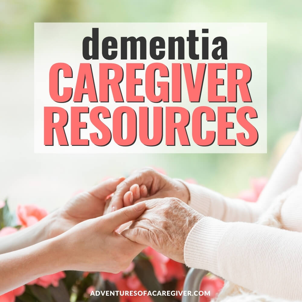 Resources list for dementia caregivers